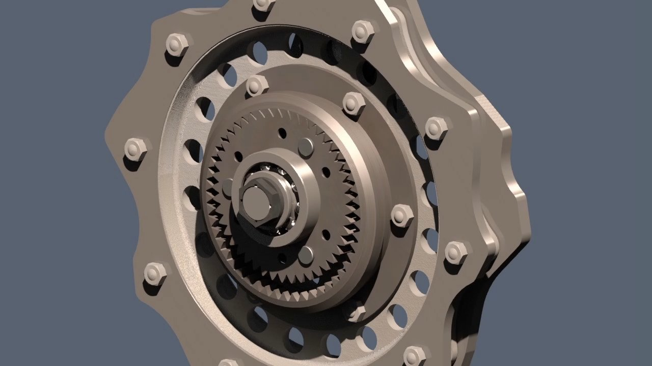 Timing Gears Animation